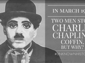 Why Did Two Robbers Steal Charlie Chaplin's Coffin?