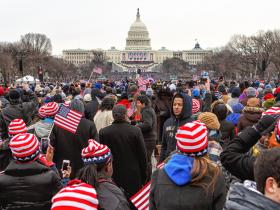 Inauguration Crowd