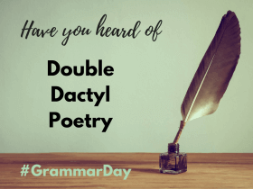 Double Dactyl Poetry