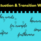 commas with transition words