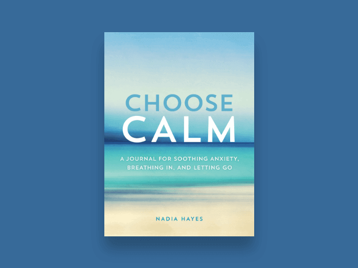 choose calm book cover