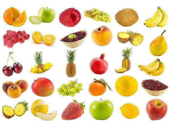 image of different fruits