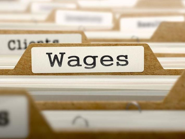 Wages: is the word singular or plural?