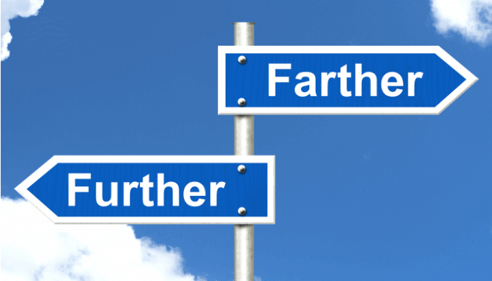 Further vs. Farther