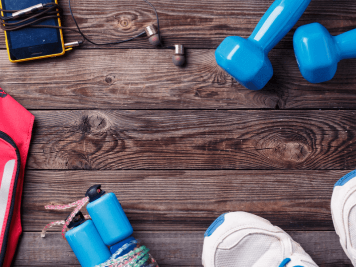 Photo of some fitness gear