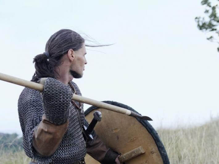 A Viking making much ado about nothing