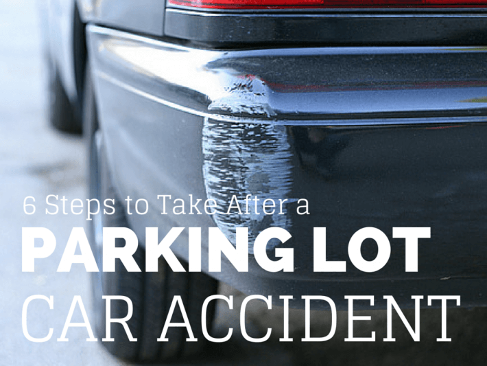6 Steps to Take After a Parking Lot Car Accident