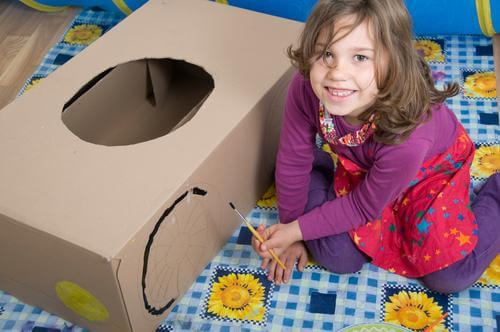 Easy Cardboard Project Toy Car For Kids