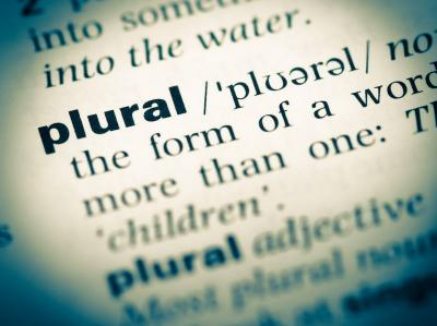 the word plural