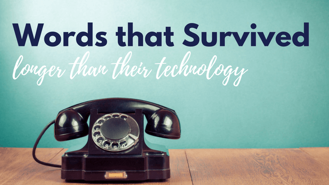 Phrases from Obsolete Technology