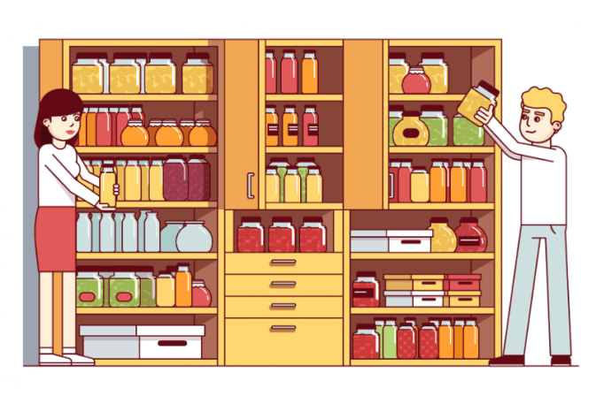 The 7 Best Ways To Organize A Pantry