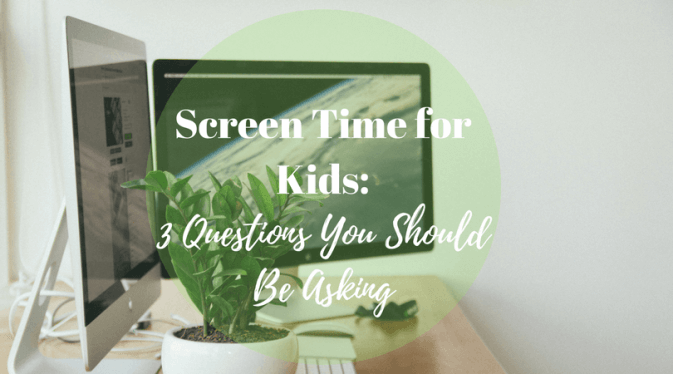 screen time for kids - is it healthy?