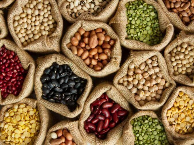legumes that are very dense with fiber