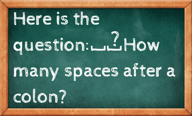 Grammar Girl : How Many Spaces After a Colon? :: Quick and Dirty ...