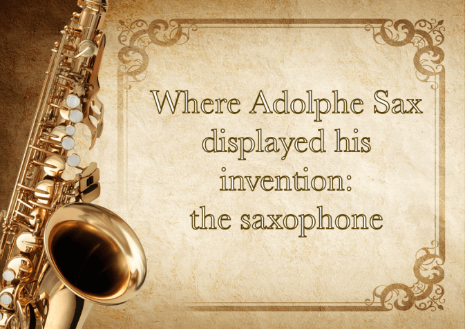 Who invented the saxophone?
