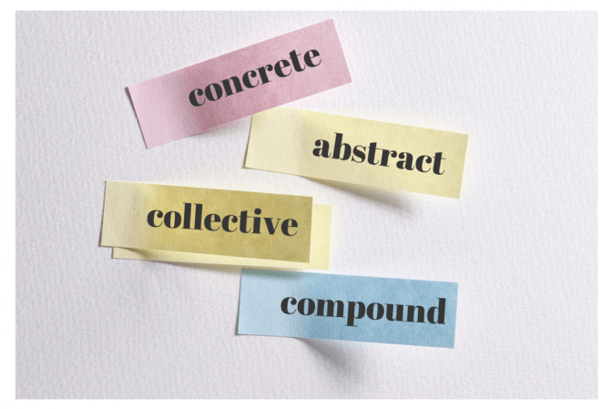 Nouns: Concrete, Abstract, Collective, and Compound