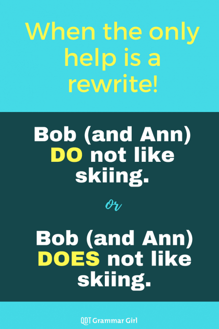 Nouns in parentheses can affect your verb choice in weird ways that make grammatically correct but awkward sentences. In cases such as this, rewrite!