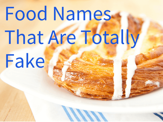 Food names from countries