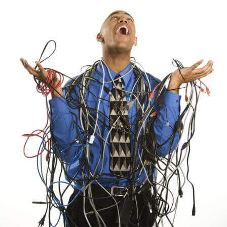 Image result for tangled wires