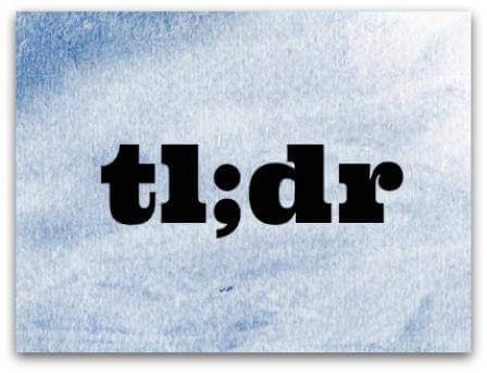 Is the Semicolon in tl;dr Ironic? | Grammar Girl