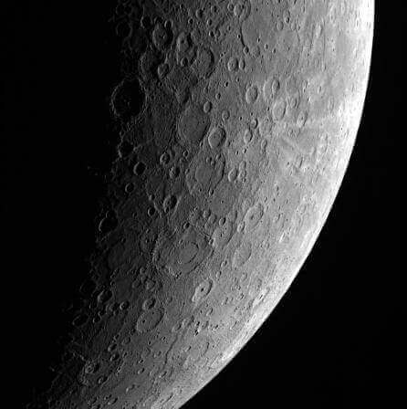 Image of Mercury from NASA's MESSENGER mission